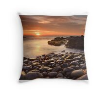 Sun and Stone Throw Pillow