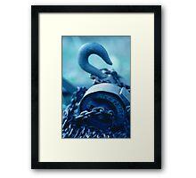 Hook, Chain & Sinker Framed Print