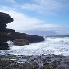 Sky, Rocks, Sea by Eka Evianty