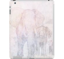 Elephants - Sketch iPad Case/Skin