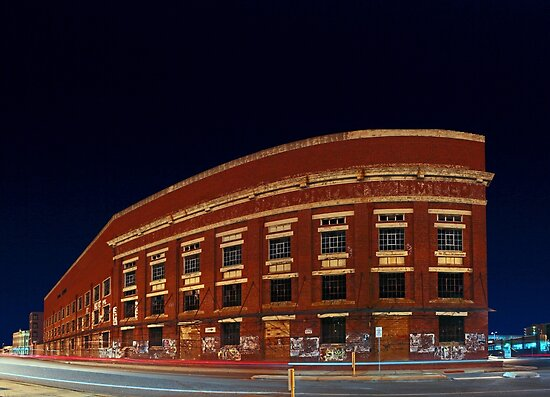 Old Fremantle Woolstores Building (Multi Row Panorama)  by EOS20