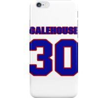 National baseball player Denny Galehouse jersey 30 iPhone Case/Skin