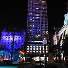 Lit up for the G20 meeting in Brisbane by PhotosByG