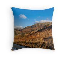 Duddon Valley Road Throw Pillow