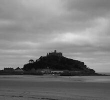 St Michaels Mount by Justine Humphries