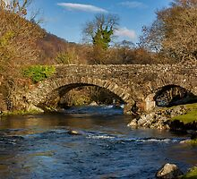 Packhorse Bridge River Duddon by Trevor Kersley