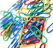 PAPER CLIPS by ANDIBLAIR