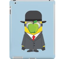 Magritte Minion iPad Case/Skin