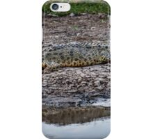 Crocodile Reflection iPhone Case/Skin