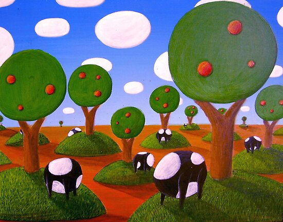 boweless cows by kym banks