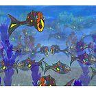 Aquatic life by Martin Derksema