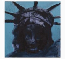 Statue of Liberty Stickers by Amy Marie Adams
