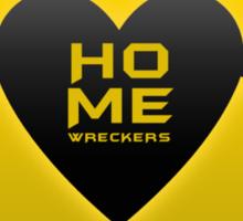 home wreckers batman Sticker