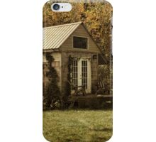 Cottage in the Country iPhone Case/Skin