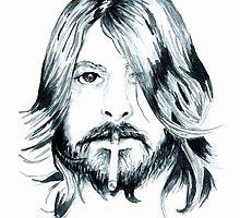 Dave Grohl by bridgetdav