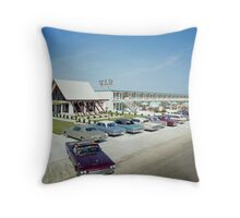 VIP Motel in Wildwood New Jersey from the 1960's Throw Pillow