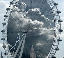 London Eye by Gordon Hewstone