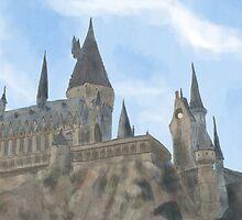 Hogwarts, Hogwarts, Hoggy Warty Hogwarts! by nicolorful