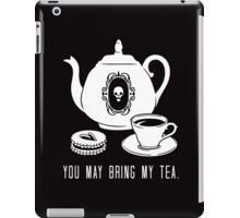 Bring my Tea iPad Case/Skin