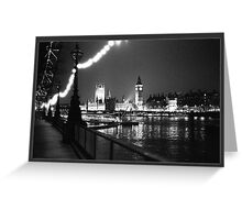 Houses of Parliament Greeting Card
