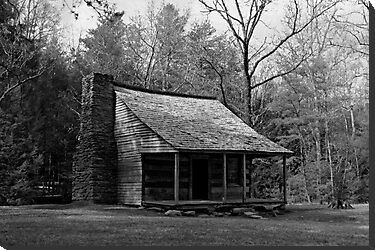 Carter Shields Cabin by Gary L   Suddath