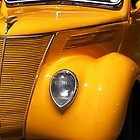 yellow  car, by hortonwildthing