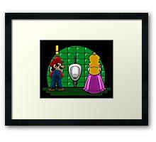 Ladies´ Room Framed Print