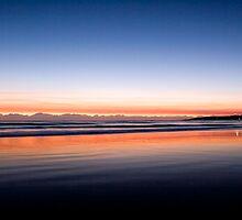 Byron Bay sunrise by Evan Malcolm