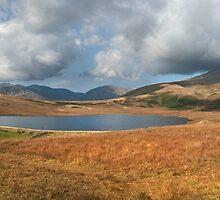 Burmoor Tarn Lake District Cumbria by eddiej