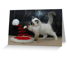 Santa's Helper (No Words) Greeting Card