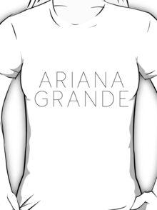 Ariana Grande Logo (Yours Truly Era) T-Shirt