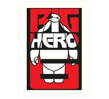 Big Hero 6 Baymax Art Print