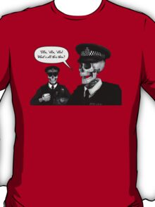 Skeleton Police (Red) T-Shirt