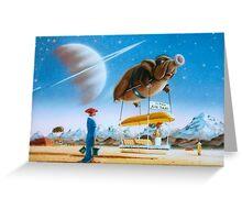 Titan Taxi Greeting Card