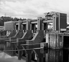 Dam and Locks by Evanickelbridger