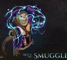 Moya the Smuggler by Goldcasper