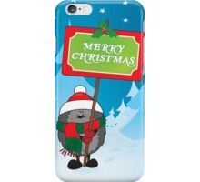 Merry Christmas everyone iPhone Case/Skin