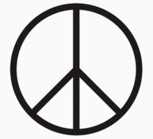 Peace symbol, CND, Campaign for Nuclear Disarmament, Ban the Bomb, by TOM HILL - Designer