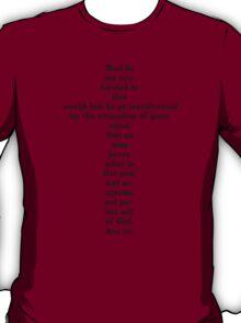 ROMANS 12:2 - RENEW YOUR MIND T-Shirt