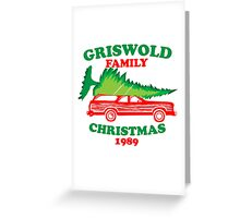 Griswold Family Christmas1989 Greeting Card