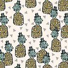 Pineapple - Cream by Andrea Lauren by Andrea Lauren