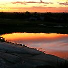 Lake of sunsets by Robyn Lakeman