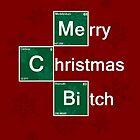 Merry Christmas Bitch by GarfunkelArt