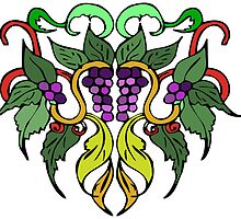 Grapevine Family Crest by steelwidow