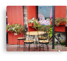 French Bistro Canvas Print