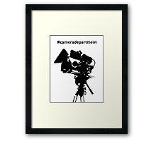 Camera Department Framed Print
