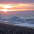 sunset at Weybourne by cappa