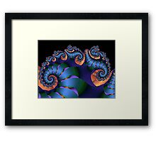 Ribbon Wrapped Dragon Framed Print
