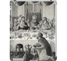 Jesus Christ and the Last Supper iPad Case/Skin