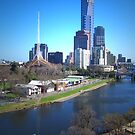 Yarra River - Melbourne by Christine  Wilson Photography